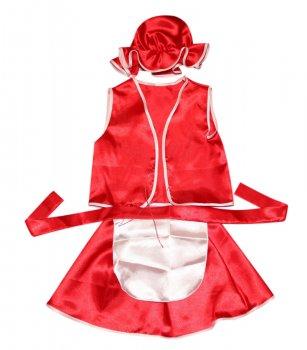 Детский карнавальный костюм Красная Шапочка 110-116 см
