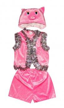 Детский карнавальный костюм Поросенок 110-116 см