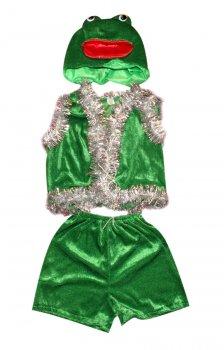 Детский карнавальный костюм Лягушка 110-116 см