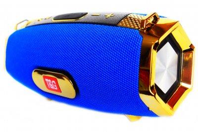 Портативна bluetooth стерео колонка T&G M229 Special Limited Edition Синя (229 Blue)