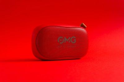 Портативная колонка OMG To GO 900 Portable Bluetooth Speaker Red (красный)