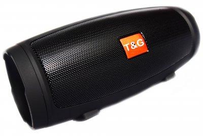 Портативна bluetooth стерео колонка T&G Charge 3 Mini Чорна (Charge 3 Mini Blach)