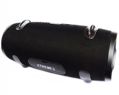 Портативна бездротова Bluetooth стерео колонка T&G Xtreme 2 Big Чорна (Xtreme 2 Black)