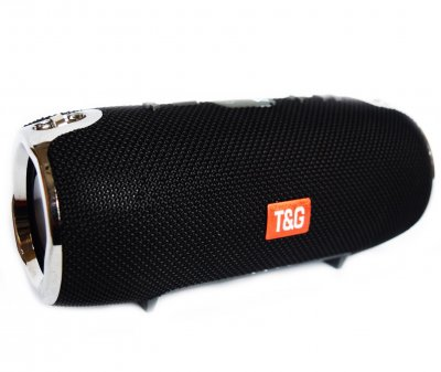 Портативна бездротова Bluetooth стерео колонка T&G Xtreme 12 Чорна (Xtreme 12 Black)