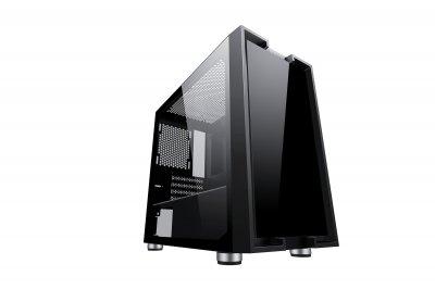 Корпус 2E Gaming CLARUS (GM5) MiniT, 2*USB2.0,1*USB3.0, 2*140ммARGB,1*120ммARGB,стекло,без БП,черн.