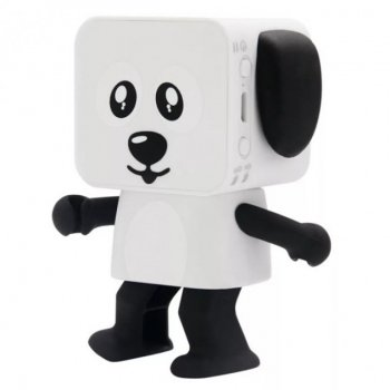 """Колонка беспроводная Bluetooth SUNROZ """"Танцующая собака"""" (SM00154)"""