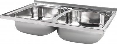Кухонна мийка LIDZ 5080 Polish 0.8 мм (LIDZ5080LPOL06)