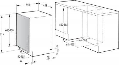 Посудомоечная машина Gorenje GV52012