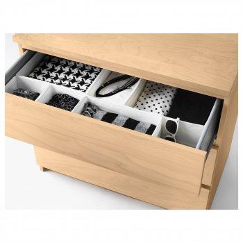 Набір коробок IKEA (ІКЕА) SKUBB 6 шт білий (001.926.31)