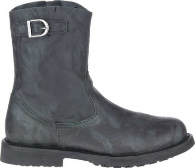 Мужские сапоги Harley-Davidson Danford Pull On Motorcycle Boot Black Full Grain Leather