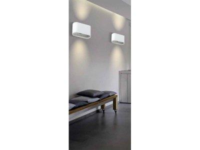 Настінний світильник Azzardo AZ1708 VEGA (GM1121 WH)