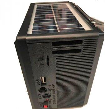 Радиоприемник NNS 1360S Solar Черный (BS2168)