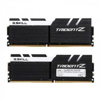 Модуль памяти для компьютера DDR4 16GB (2x8GB) 3200 MHz Trident Z Black H/White G.Skill (F4-3200C16D