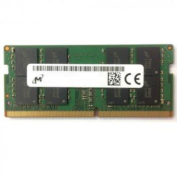 Оперативна пам'ять Micron SODIMM DDR4 16Gb 2133MHz PC4-17000 (MTA16ATF2G64HZ-2G1A1) Refurbished Excellent