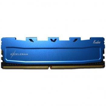 Модуль пам'яті для комп'ютера DDR4 8GB 2400 MHz Blue Kudos eXceleram (EKBLUE4082417A)