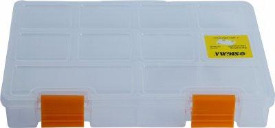 Органайзер пластиковый Sigma прозрачный 195 х 140 х 32 мм (7418021)