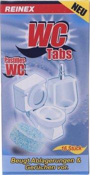 Таблетки для чищення унітазів Reinex WC Reiniger Tabs 16 шт. (4068400011220)