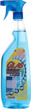 Універсальний очисний засіб Reinex Glas Reiniger для скла й дзеркал 1 л (4068400001122)
