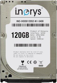 "Жорсткий диск 2.5"" 120GB SATA i.norys (INO-IHDD0120S2-N1-5408)"