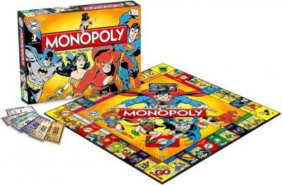 Настільна гра Winning Moves Монополія DC Comics Retro (5036905022545)