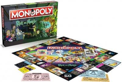 Настільна гра Winning Moves Монополія Rick&Morty (5053410002701)