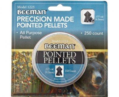 Кулі пневматичні (для воздушки) 4,5 мм 0,55 г (250шт) Beeman Pointed. 14290628