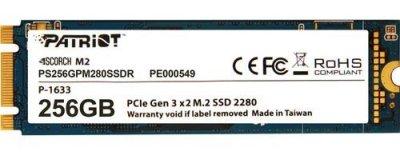Накопичувач SSD M. 2 256GB Patriot Scorch (PS256GPM280SSDR)