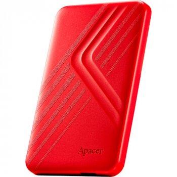Зовнішній жорсткий диск APACER AC236 2TB USB 3.1 Red (AP2TBAC236R-1)