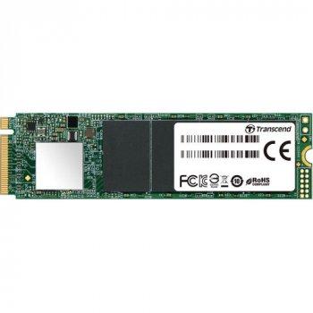 SSD накопичувач TRANSCEND MTE110S 512Gb NVMe M. 2 3D TLC (TS512GMTE110S)
