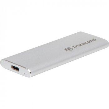 Зовнішній SSD накопичувач TRANSCEND ESD240C 120GB USB 3.1 GEN 2 TLC (TS120GESD240C)