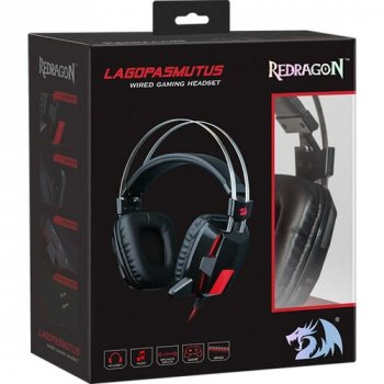 Гарнітура Redragon Lagopasmutus 2 Black-Red (75165)