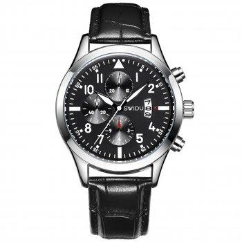 Мужские часы Swidu SWI-081 Black (3091-8717а)