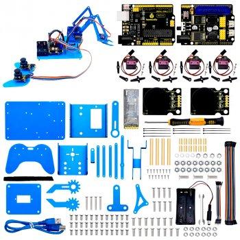 Набор Keyestudio механическая роботизированная подвижная рука для изучения Ардуино