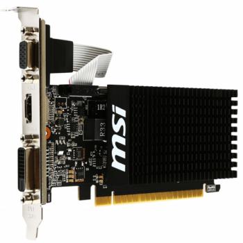 Видеокарта MSI GeForce GTX 1070 1024 MB DDR3 (GT 710 1GD3H LP)