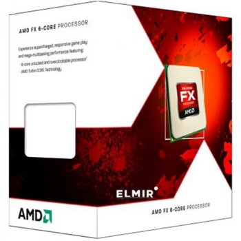 Процесор AMD X6 FX-6300 (3.5 GHz 8MB 95W AM3) Box (FD6300WMHKSBX) Black Edition
