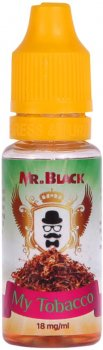 Рідина для електронних сигарет Mr.Black My Tobacco 18 мг 15 мл (Тютюн) (MR6638)
