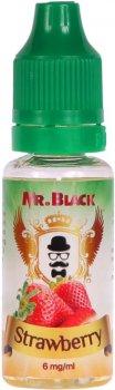 Рідина для електронних сигарет Mr.Black Strawberry 15 мл (Стигла й ароматна полуниця)