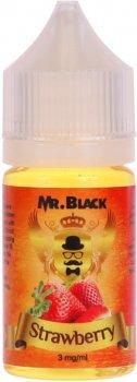 Рідина для електронних сигарет Mr.Black Strawberry 30 мл (Стигла й ароматна полуниця)