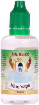 Жидкость для электронных сигарет Mr.Black Blue Vape 0 мг 50 мл (Ягодный коктейль) (MR7804)