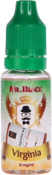 Жидкость для электронных сигарет Mr.Black Virginia 15 мл (Табак с древесным и карамельным ароматом)
