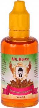 Жидкость для электронных сигарет Mr.Black Premium Tobacco 18 мг 50 мл (Вкус крепких сигарилл) (MR8736)