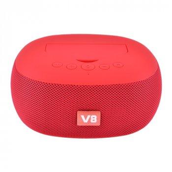 Портативна колонка XBL V8 Portable Bluetooth Speaker Red