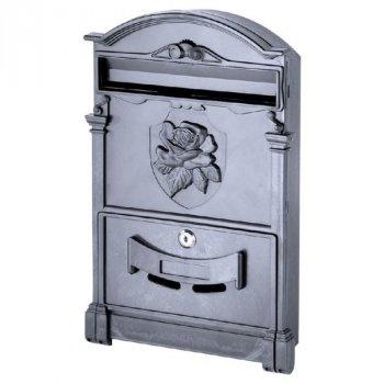 Почтовый ящик Vita роза (черный) (PO-0018)