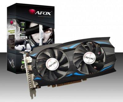 Відеокарта Afox GeForce GTX 1050 Ti 4Gb DDR5 (AF1050TI-4096D5H5) (6579826)