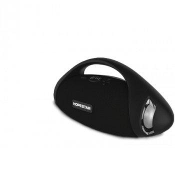 Портативная влагозащищенная Bluetooth колонка HOPESTAR H37 Black USB, FM (HP9837)