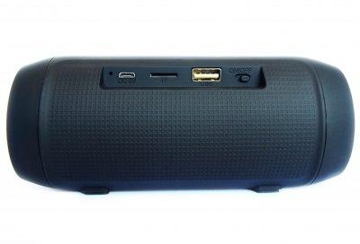 Портативна бездротова Bluetooth стерео колонка T&G Charge mini c USB і MicroSD Чорна (006 Black)