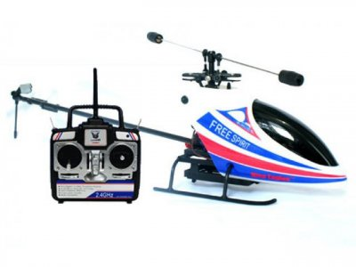 Вертолет Nine Eagles Free Spirit RTF 400 мм 2,4 ГГц (NE30222024206)