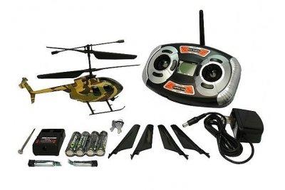 Вертолет Nine Eagles Bravo III RTF 219 мм 2,4 ГГц в кейсе (NE30231224206 in case)