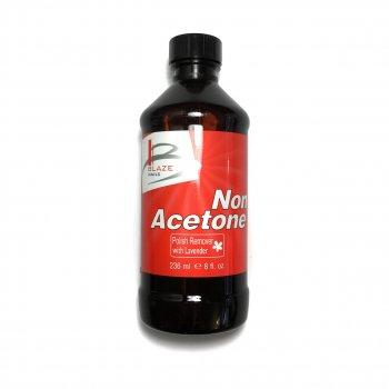 Безацетоновая рідина для зняття лаку Blaze Nails Non Acetone 236 мл