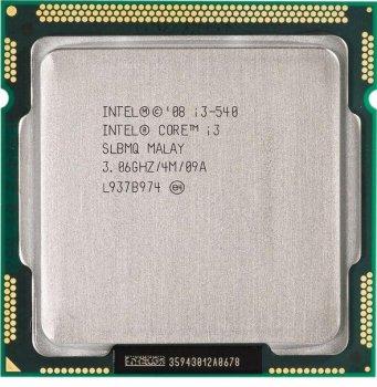 Процессор Intel I3-540 3.06GHz 2C 4M 73W (SLBTD) Refurbished
